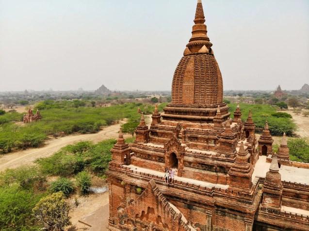 Bagan Tempel klettern