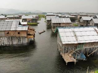 Fisherman Dorf Inle See