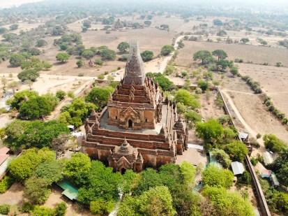 Htilominlo Tempel Drohne Aufnahme