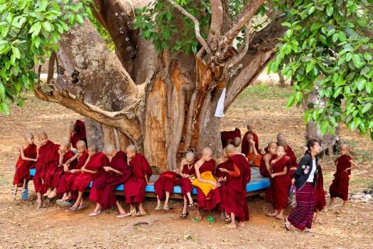 Kindermönche Myanmar