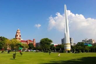 Maha Bandula Park Yangon