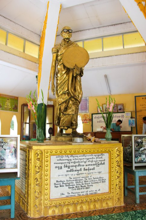 Mingun Sayadaw Statue