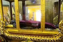 Sansaraye Pagoda Mumifizierter Mönch