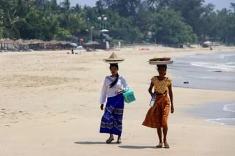 Strandverkäufer Ngapali Beach