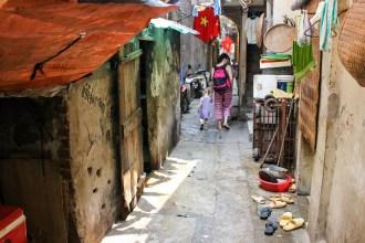 Enge Gasse Hanoi