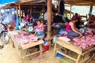 Fleischverkauf Can Cau Markt