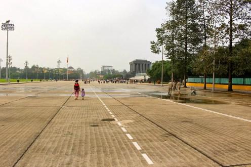 Ba Dính Platz bei dem Ho Chi Minh Mausoleum