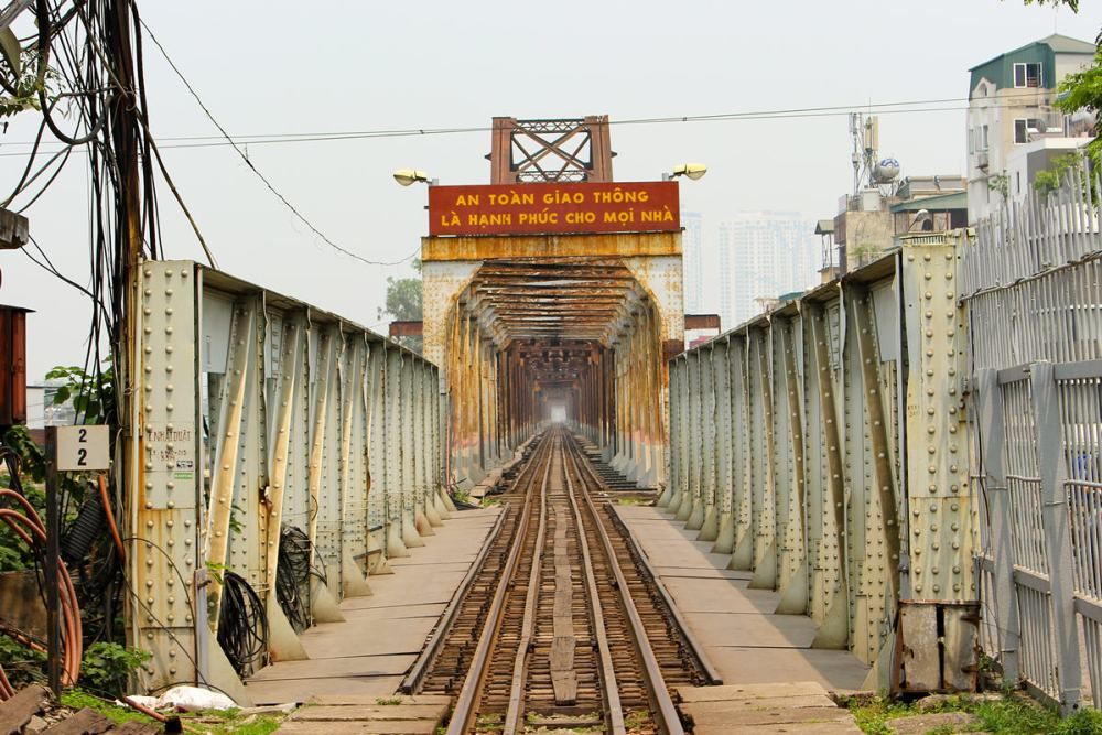 Long Bien Brücke Hanoi