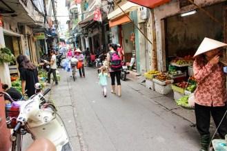 Morgenmarkt Hanoi