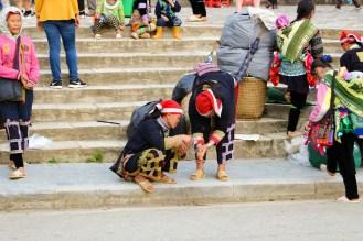 Red Dao Frauen in Sapa