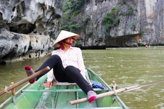 Ruderboot Tam Coc Ninh Binh