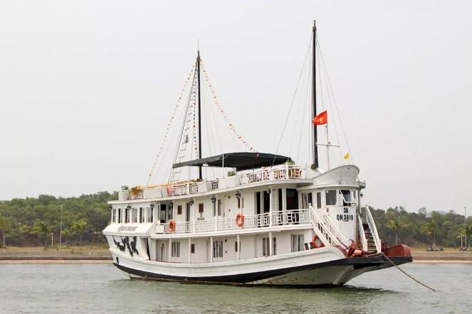 Schiff Rosa Cruise Halong Bucht