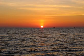 Sonnenuntergang Long Beach Phu Quoc