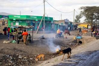 Dorf Kenia