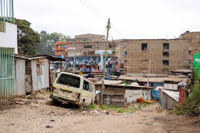 Elendviertel Nairobi