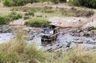 Jeep Fluss Masai Mara