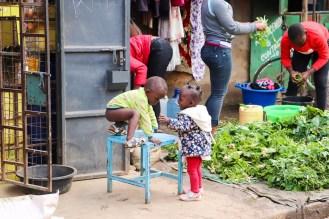 Kinder Mathare Nairobi
