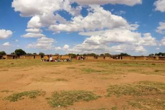 Masai Dorf Kenia