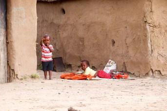 Massai Kinder