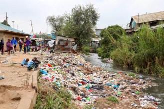 Mathare Slum Müll