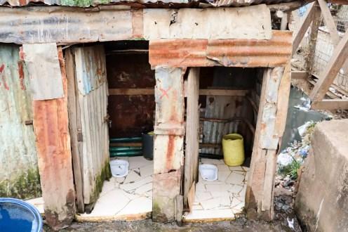 Öffentliche Toilette Mathare Nairobi