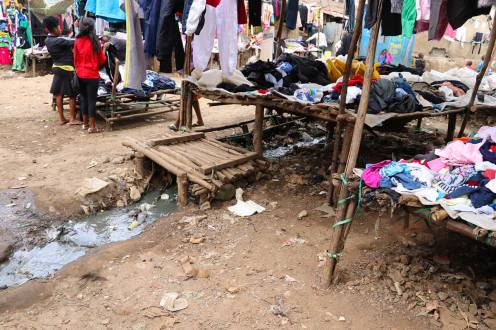 Second Hand Market Mathare Slum