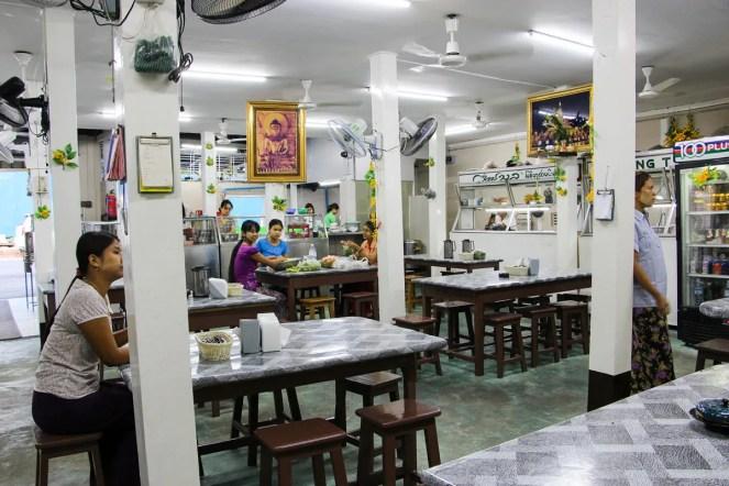 Aung Thukha burmesisches Restaurant