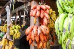 Bananen Gelb Grün Rot