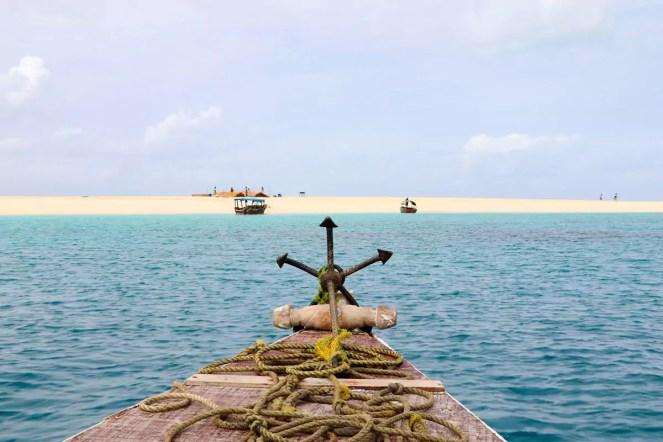 Bootsfahrt Nakupenda Beach