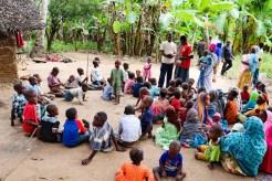 Dorf Kinder Sansibar
