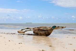 Fischerboot Matemwe Beach