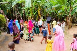 Kinder Dorf Sansibar