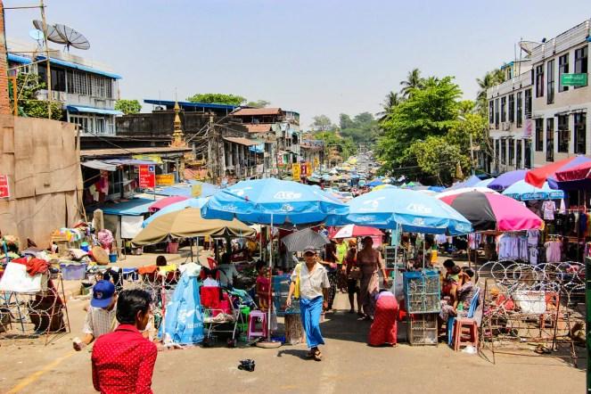Markt Yangon
