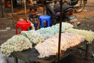 Blumenketten Mandalay
