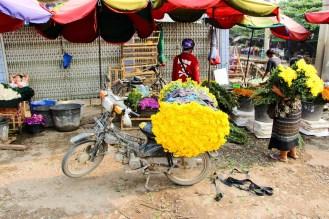Blumenmarkt Mandalay