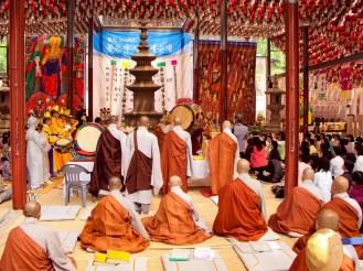 Mönche Bongeunsa Tempel