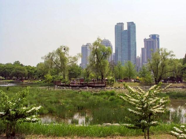 Boramae Park Seoul Südkorea