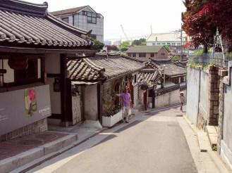 Bukchon Hanok Dorf Seoul