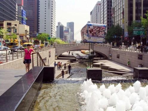 Cheonggyecheon Fluss Seoul