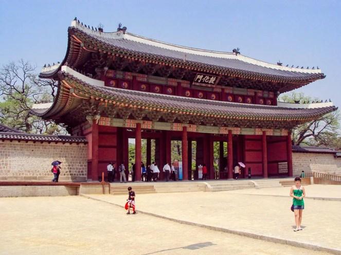 Donhwamun Gate Haupttor Changdeokgung