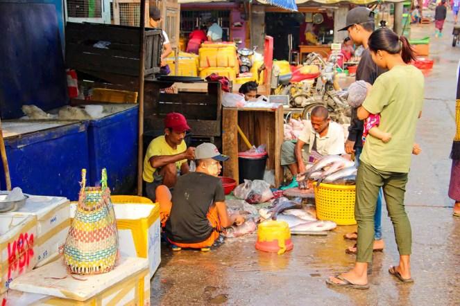 Fischmarkt Mandalay