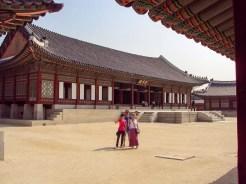Gangnyeongjeon Hall König´s Haupt Wohngebäude