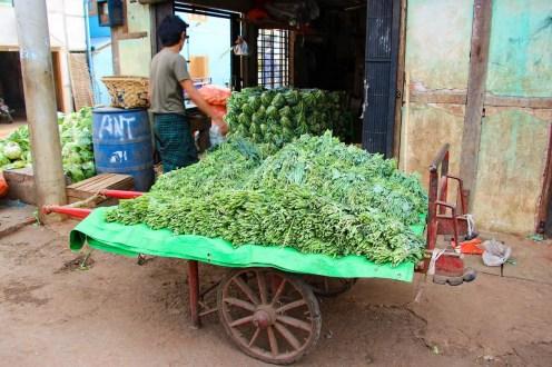 Gemüse Markt Mandalay