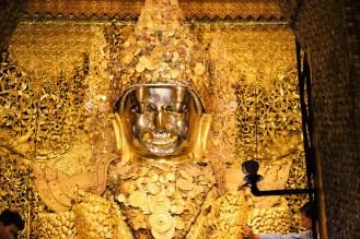 Goldener Buddha Mahamuni Pagode