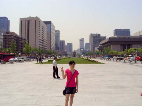 Gwanghwamun Platz Seoul