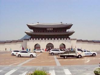 Gwanghwamun Tor Seoul
