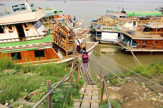 Hafen Mandalay