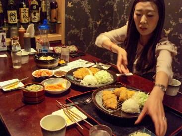 In dem japanischen Restaurant Haru in Seoul