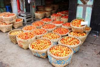 Tomaten Markt Mandalay