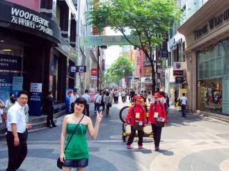 Touristenhelfer Myeong-dong Seoul